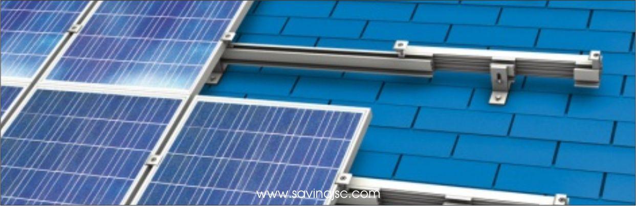 Hệ khung điện mặt trời lắp mái nhà