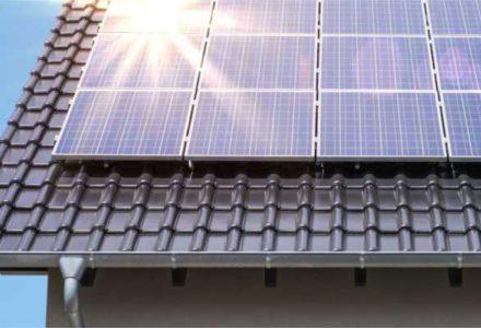 Điện mặt trời lắp mái nhà