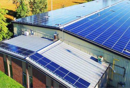 Hệ thống điện năng lượng mặt trời Hybrid Rooftop